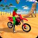 Racing Moto Beach Jumping Games