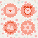 Pink anemone Atom theme by DLTO