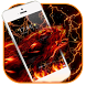 fire wolf lightning theme by lovethemeteam