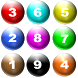 Number Balls Game by SimSam
