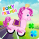 Pony Friends ???? - Beepzz racing game for kids