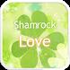 Shamrock Love Emoji Keyboard by Colorful Design