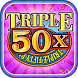 Triple 50x Pay Slot Machine by Bomzy Apps