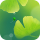 Green Apricot Leaf Wallpaper by DynamicArt Creator