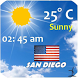 San Diego Weather by Smart Apps Android