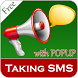 Talking SMS Popup - SMS Talker by Bhima Apps