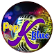 Pop K Blue Theme&Emoji Keyboard by Music Emoji Keyboard Theme