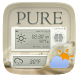 Pure GO Weather Widget Theme by GOMO Go