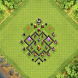 Town Hall 4 Hybrid Base Layout