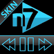 SKIN N7PLAYER DARK GLASS HOLO by Tak Team Studio