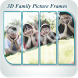 3D Family Picture Frame by SRK photography