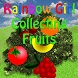 Rainbow Girl Collecting Fruits by if else factory