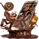 Yummy Sweet Chocolate Theme by The Best Android Themes