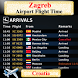 Zagreb Airport Flight Time
