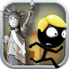 Stickman run New York by Stickman Runner Games
