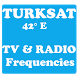 TV and RADIO frequencies on Türksat Satellite by OUBA APPS