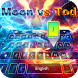 Ice and Fire Keyboard Theme by Keyboard Theme & Music Player Theme