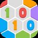 Hexa Blocks 1010 by Peafone Studio