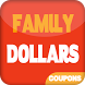 Coupons for Family Dollar by Cheats