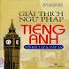 Giải Thích Ngữ Pháp Tiếng Anh by Lê Văn Tài