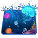 3D Aquarium Jelly Fish Theme by Launcher 3D Pro