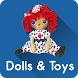 Dolls and Toys Crafts by RaccoonFinger