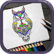 Coloring pages for adults animals by Yoopla Company