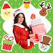 Christmas Photo Frames Sticker by Cosan Studio