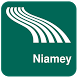 Niamey Map offline by iniCall.com