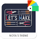 Let's Make Xperia Theme by Nota Dao