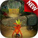 Temple Crash Jungle World Games by Crash Temple Bandicoot Adventure