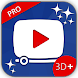 myVideos 3D+ PRO by Mobility in Life Applications