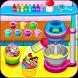 Cooking rainbow cupcakes by LPRA STUDIO