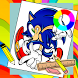 Learn how to draw Sonic Easy Step by New games for kids
