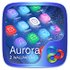Aurora GO Launcher Theme by ZT.art