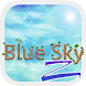 Blue Sky ZERO Launcher by GO T-Me