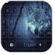 Wild Wolf Keyboard Theme HD
