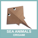 Sea Creatures Origami by AeReN