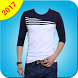 Men T-Shirt Photo Suit Montage 2017 by Best Photo Video Apps