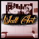 Wall art decoration by praydev