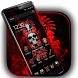 Red Blood Skull Launcher by Cool Wallpaper