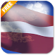 3D Latvia Flag Live Wallpaper by App4Joy