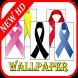 Awareness Ribbon Color Wallpaper