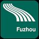 Fuzhou Map offline by iniCall.com