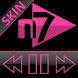 SKIN N7PLAYER DARK GLASS PINK by Tak Team Studio