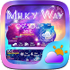 Milky Way Weather Widget Theme by GO Dev Team ^_^