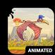 Prehistoric Animated Keyboard by Wave Keyboard Design Studio