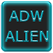 ADW Alien Abstract Aqua Theme by Alessandro Vuono