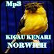 Kicau Kenari Norwich Gacor Mp3 by iky94 studio