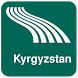 Kyrgyzstan Map offline by iniCall.com